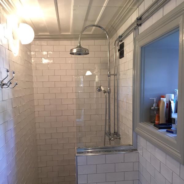 Dusch skärm - 600 x 600
