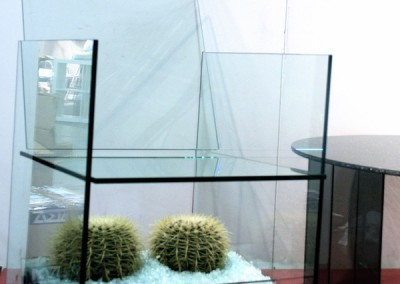 Glasstol - 600 x 600