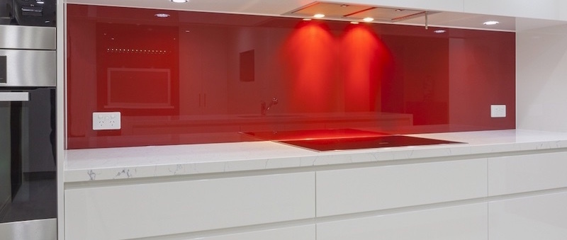 Röd panel - 800 x 600