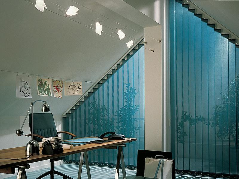 Blå lamell - 800 x 600