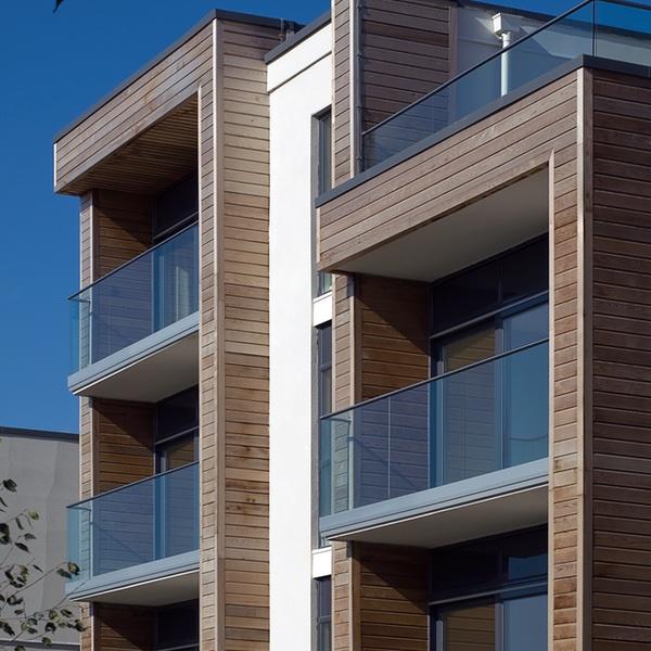 Flera balkonger 600 x 600