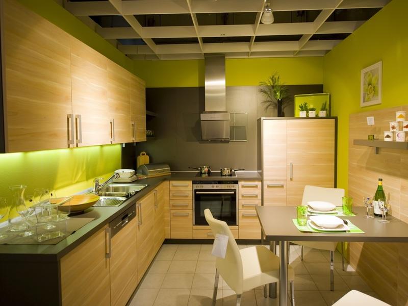 Grön panel - 800 x 600