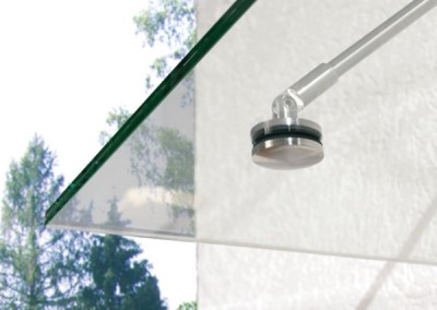 Närbild glastak - 600 x 600