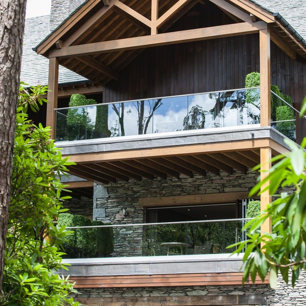 Slim två balkonger - 600 x 600